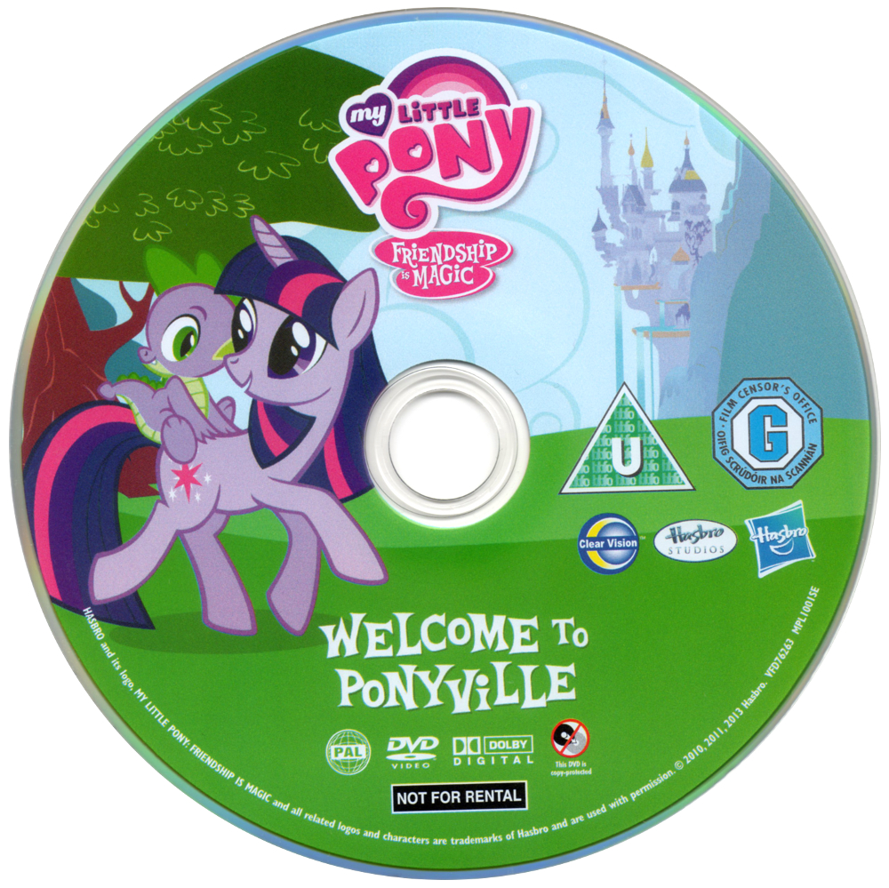 My Little Pony Friendship Is Magic Welcome To Ponyville