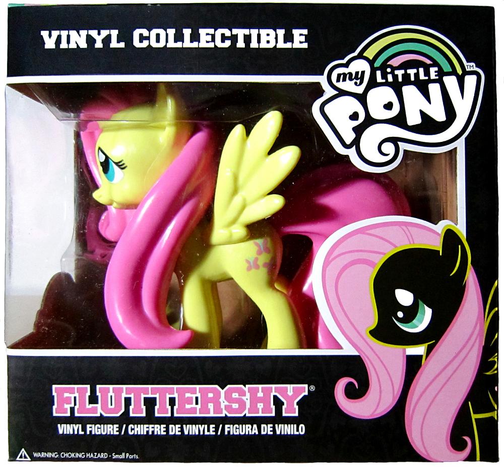Funko vinyl Fluttershy pakkaus edestä