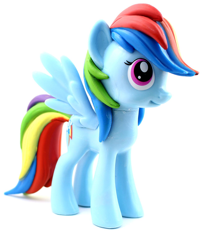 Funko vinyl Rainbow Dash oikea etuviisto