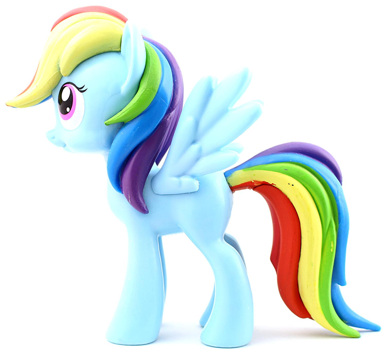 Funko vinyl Rainbow Dash vasen kylki