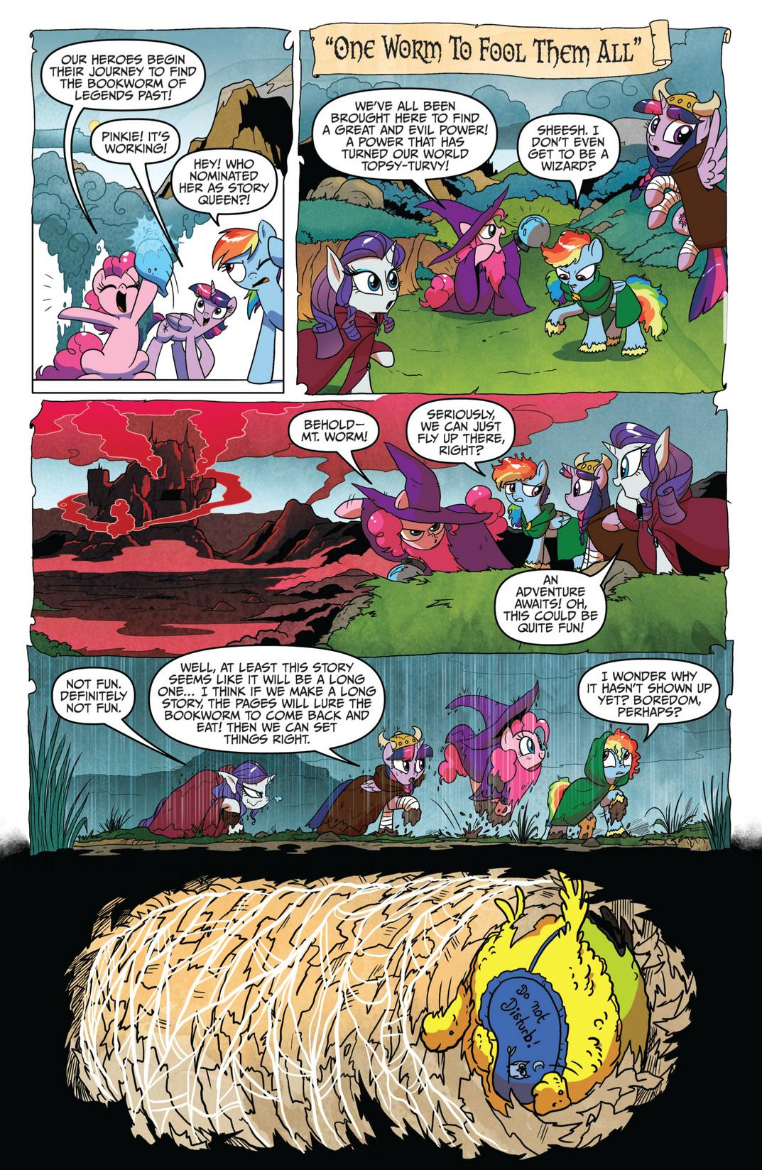 MLP sarjakuva numero 16 esikatselusivu 3